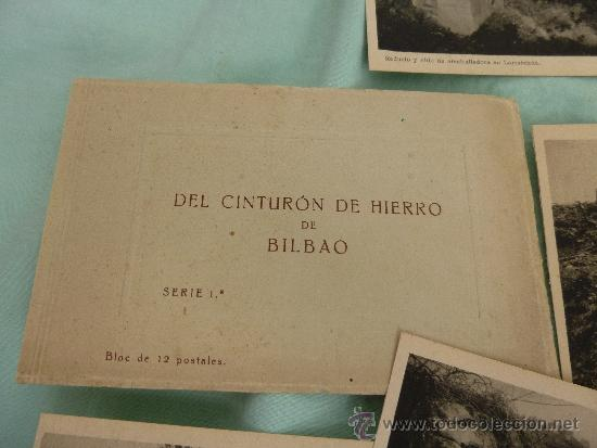 Militaria: cinturon de hierro ..bilbao..serie de 12 ..epoca guerra civil...... - Foto 4 - 35431153