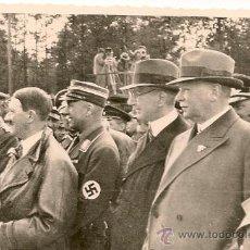 Militaria: HITLER JUNTO AL MINISTRO DE PROPAGANDA GÖEBBELS. MEDIDAS 7 X 10 CM. . Lote 35440797