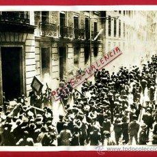 Militaria: FOTO FOTOGRAFIA, GUERRA CIVIL , MADRID ,PROTESTA EN GOBERNACION ,ORIGINAL, F505. Lote 35453492
