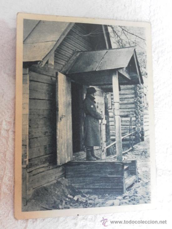 POSTAL. DIVISIÓN AZUL. (Militar - Fotografía Militar - I Guerra Mundial)