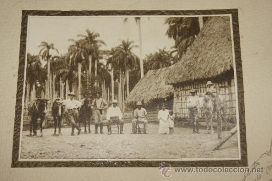 Militaria: Antigua fotografia de militares, cuba, dedicada de 1920. - Foto 2 - 35661259