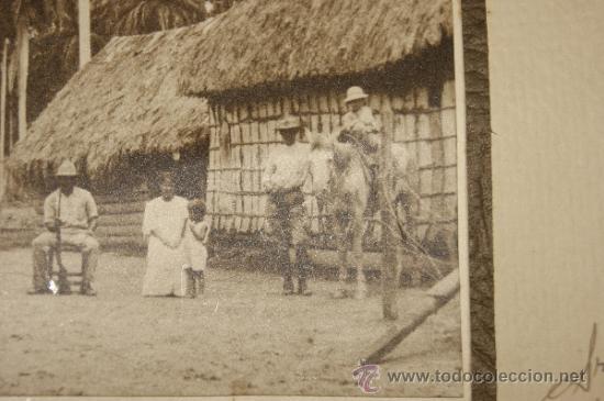 Militaria: Antigua fotografia de militares, cuba, dedicada de 1920. - Foto 4 - 35661259