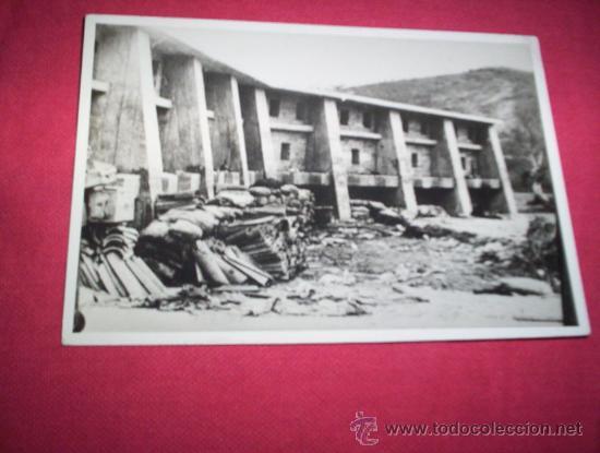 FOTO CINTURON DE HIERRO REPUBLICANO BILBAO, ORIGINAL 1936 VIZCAYA EUSKADI PAIS VASCO GUERRA CIVIL (Militar - Fotografía Militar - Guerra Civil Española)
