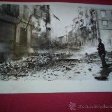 Militaria - foto incendio de eibar republicano Bilbao, original 1936 Vizcaya Euskadi pais Vasco guerra civil - 35678722
