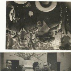 Militaria: 2 FOTOGRAFIAS DE MILITARES CONDECORADOS EN LA GUERRA CIVIL. Lote 35664080