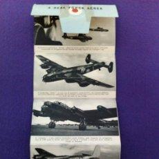 Militaria: FOLLETO PUBLICITARIO ANTIGUO DE LA ROYAL AIR FORCE - RAF. Lote 35714475