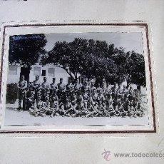 Militaria: FOTO GRANDE DE COMPAÑÍA DE REGULARES. AÑOS 30. Lote 35801873