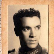 Militaria: SOLDADO ARGENTINO, 1937, FOTO DE ESTUDIO SOBRE CARTÓN DATADA - CLC. Lote 35860889