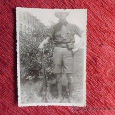 Militaria: ANTIGUA FOTOGRAFIA MILITAR ALEMAN CON MAUSER 2ª GUERRA MUNDIAL N-118. Lote 36137969