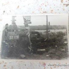 Militaria: ANTIGUA FOTOGRAFIA ENCRUCIJADA EN EL FRENTE SOLDADO ALEMAN 2ª GUERRA MUNDIAL N-119. Lote 36138792