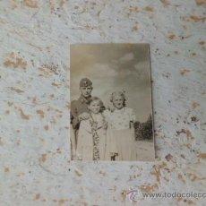 Militaria: ANTIGUA FOTOGRAFIA RECLUTA HAMBURGO CON DOS HERMANAS 1939-1940 2ª GUERRA MUNDIAL N-124. Lote 36139078