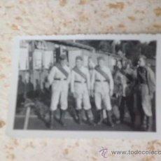 Militaria: ANTIGUA FOTOGRAFIA SOLDADOS ALEMANES RARO UNIFORME BLANCO 1939-1940 2ª GUERRA MUNDIAL N-125. Lote 36139142