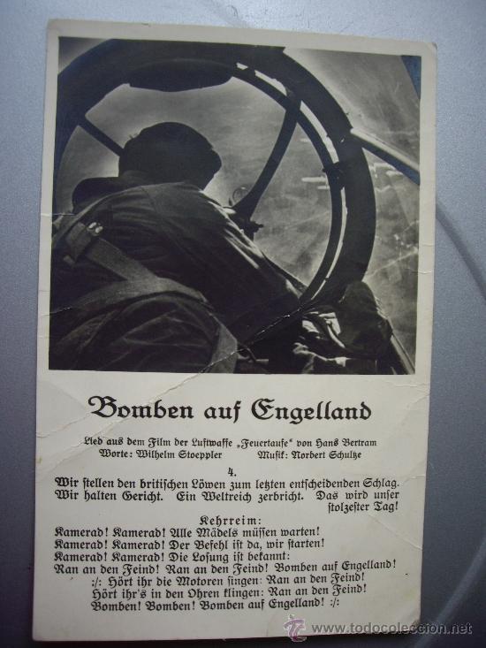 POSTAL ALEMANA ENVIADA DESDE EL FRENTE 1-11-1942 (Militar - Fotografía Militar - II Guerra Mundial)
