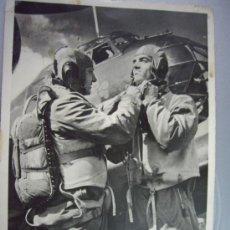 Militaria: POSTAL ALEMANA TRIPULACION JU-88 ENVIADA DESDE EL FRENTE 8-JUNIO-1944. Lote 36146151