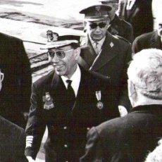 Militaria: FOTO ALMIRANTE NIETO ANTUNEZ,AÑOS 60,MEDALLA INDIVIDUAL MILITAR,GUERRA CIVIL ESPAÑOLA-FALANGE-OJE-. Lote 36302003