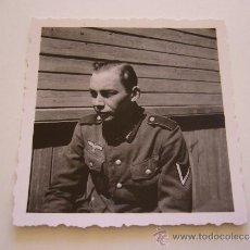 Militaria: FOTOGRAFIA SOLDADO ALEMÁN. II GUERRA MUNDIAL. ALEMANIA. . Lote 36313396