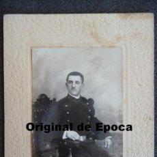 Militaria: (JX-822)FOTOGRAFIA DE CABO REG.Nº57 DE INFANTERIA EPOCA ALFONSINA. Lote 36525373