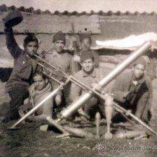 Militaria: MARAVILLOSA FOTOGRAFIA, TARJETA POSTAL, GUERRA CIVIL ESPAÑOLA, POSIBLEMENTE 1938. Lote 36651113
