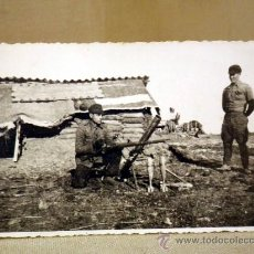 Militaria: MARAVILLOSA FOTOGRAFIA, TARJETA POSTAL, GUERRA CIVIL ESPAÑOLA, POSIBLEMENTE 1938. Lote 36651119