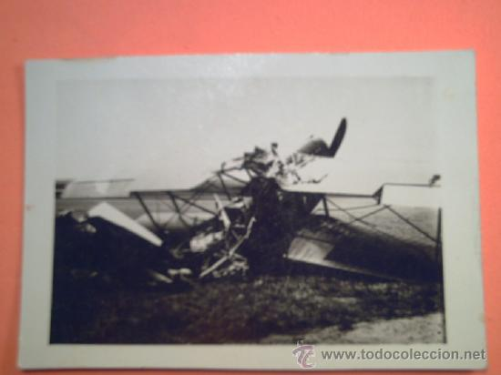 FOTO SEGUNDA GUERRA MUNDIAL - AVIÓN DERRIBADO (Militar - Fotografía Militar - II Guerra Mundial)