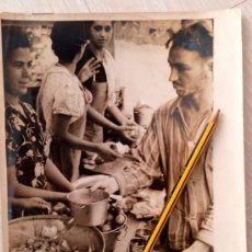 Militaria: GUERRA CIVIL FOTO MIEMBRO BRITÁNICO BRIGADAS INTERNACIONALES HERIDO EN BRUNETE, GRANDE 21X26CM, 1937. Lote 36750621