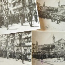 Militaria: 4 FOTOGRAFIAS DE LA CELEBRACION EN VITORIA DEL ALZAMIENTO NACIONAL 1938 - GUERRA CIVIL - PAIS VASCO. Lote 36753624
