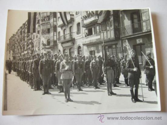Militaria: 4 FOTOGRAFIAS DE LA CELEBRACION EN VITORIA DEL ALZAMIENTO NACIONAL 1938 - GUERRA CIVIL - PAIS VASCO - Foto 4 - 36753624