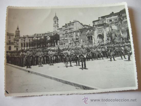 Militaria: 4 FOTOGRAFIAS DE LA CELEBRACION EN VITORIA DEL ALZAMIENTO NACIONAL 1938 - GUERRA CIVIL - PAIS VASCO - Foto 5 - 36753624
