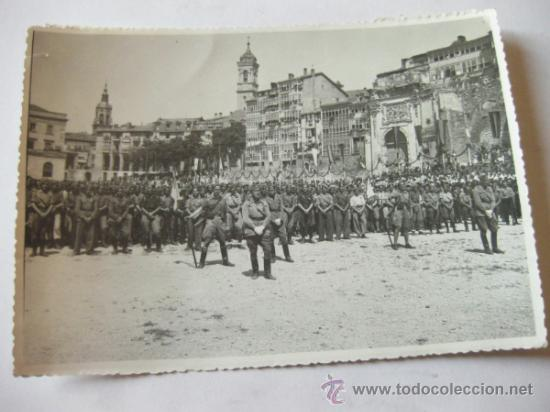 Militaria: 4 FOTOGRAFIAS DE LA CELEBRACION EN VITORIA DEL ALZAMIENTO NACIONAL 1938 - GUERRA CIVIL - PAIS VASCO - Foto 6 - 36753624