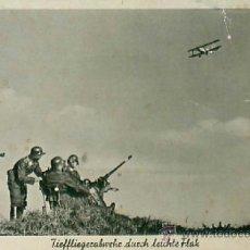 Militaria: WEHRMACHT LUFTWAFFE - VER DORSO. Lote 36851654
