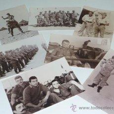 Militaria: LOTE DE 7 FOTOGRAFIAS DE MILITARES ESPAÑOLES, SAHARA IFNI. Lote 36856751
