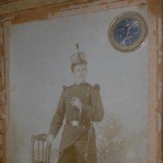 Militaria: FOTO SOLDADO ALFONSINO 42 REGIMIENTO. Lote 36910704
