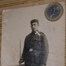 Militaria: FOTO DE SOLDADO DE 6 REGIMIENTO ALFONSINO. Lote 36910743