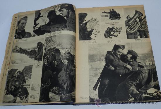 Militaria: TOMO ENCUADERNADO CN 15 REVISTAS SIGNAL, DIVISION AZUL, II GUERRA MUNDIAL, DESDE LA NUM. 1 DE 1942 A - Foto 2 - 36982927