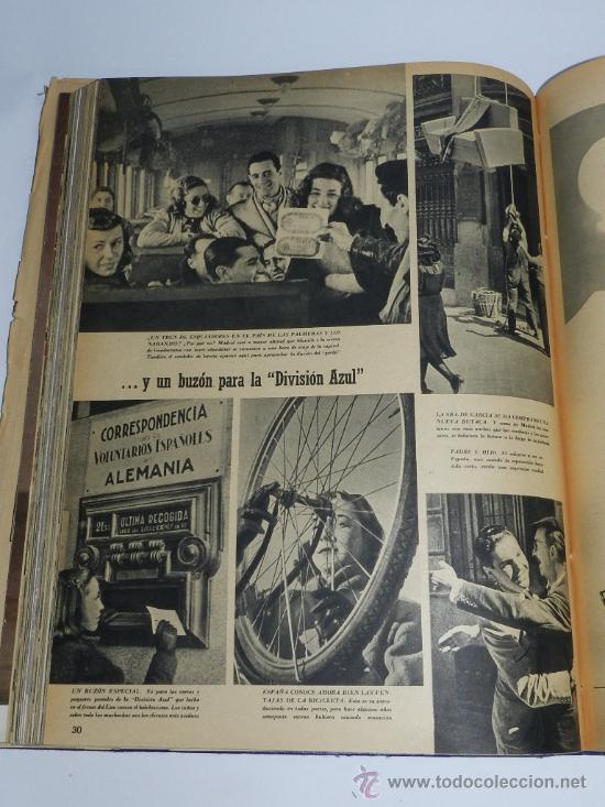 Militaria: TOMO ENCUADERNADO CN 15 REVISTAS SIGNAL, DIVISION AZUL, II GUERRA MUNDIAL, DESDE LA NUM. 1 DE 1942 A - Foto 3 - 36982927