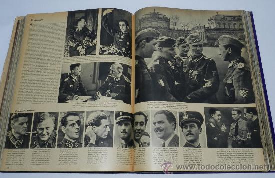 Militaria: TOMO ENCUADERNADO CN 15 REVISTAS SIGNAL, DIVISION AZUL, II GUERRA MUNDIAL, DESDE LA NUM. 1 DE 1942 A - Foto 4 - 36982927