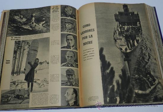 Militaria: TOMO ENCUADERNADO CN 15 REVISTAS SIGNAL, DIVISION AZUL, II GUERRA MUNDIAL, DESDE LA NUM. 1 DE 1942 A - Foto 5 - 36982927
