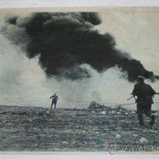 Militaria: FOTOGRAFIA EN PAPEL RECIO GRIS DE LA II GUERRA MUNDIAL - SOLDADOS EN LA NIEVE. Lote 37082550