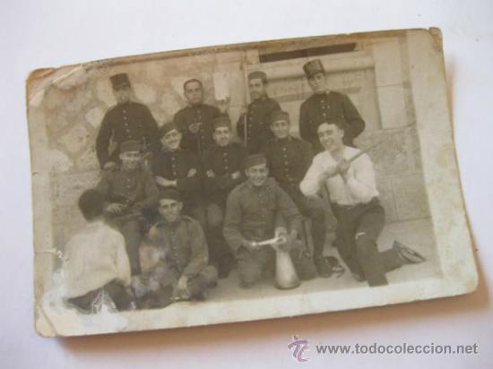 FOTOGRAFIA POSTAL DEL REGIMIENTO DE INFANTERIA DE LA LEALTAD NUMERO 30 (Militar - Fotografía Militar - Otros)