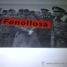 Militaria: FOTO FIRMADA POR EL PILOTO WERNER MOLDERS. Lote 42492688