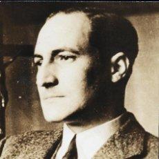 Militaria: DAVID SEYMOUR CHIM. EL LEHENDAKARI JOSE ANTONIO AGUIRRE 1937. VINTAGE GUERRA CIVIL. Lote 37344066