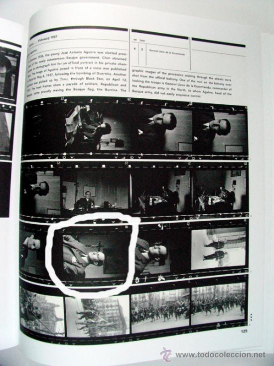 Militaria: DAVID SEYMOUR CHIM. EL LEHENDAKARI JOSE ANTONIO AGUIRRE 1937. VINTAGE GUERRA CIVIL - Foto 3 - 37344066
