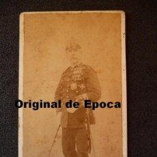 Militaria: (JX-916)FOTOGRAFIA DE CORONEL DE REGIMIENTO DE RESERVA,CON MULTIPLES CONDECORACIONES.. Lote 37580576