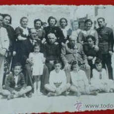 Militaria: MILITAR ESPAÑOL, OFICIAL DE REGULARES, CON FAMILIA, MELILLA. Lote 38596294