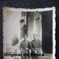 Militaria: (JX-946)FOTOGRAFIA DE SOLDADOS-GUERRA CIVIL. Lote 37956369