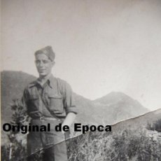Militaria: (JX-948)FOTOGRAFIA DE SOLDADO-GUERRA CIVIL. Lote 37956421