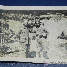 Militaria: ANTIGUA FOTOGRAFIA DE LEGIONARIOS, GUERRA DEL RIF, 1925 CAMPAÑA DE MARRUECOS, PROTECTORADO ESPAÑOL, . Lote 38103548