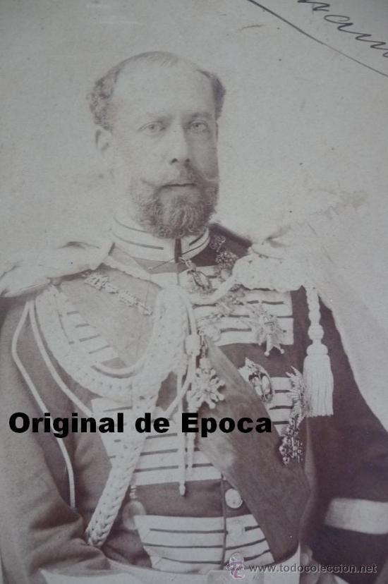 Militaria: (JX-983)FOTOGRAFIA DE D.JOSE MARIA MESIAS DEL BARCO Y FITZ JAMES STUART,V DUQUE DE TAMAMES AÑO 1901 - Foto 2 - 38201707