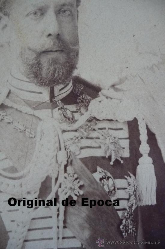 Militaria: (JX-983)FOTOGRAFIA DE D.JOSE MARIA MESIAS DEL BARCO Y FITZ JAMES STUART,V DUQUE DE TAMAMES AÑO 1901 - Foto 3 - 38201707