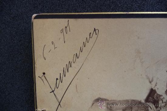Militaria: (JX-983)FOTOGRAFIA DE D.JOSE MARIA MESIAS DEL BARCO Y FITZ JAMES STUART,V DUQUE DE TAMAMES AÑO 1901 - Foto 4 - 38201707